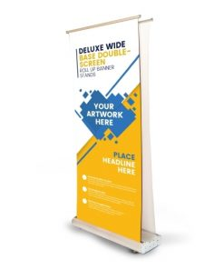 Premium Double Sided Roll Up Banner 1