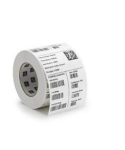 Removable paper base matte label 1