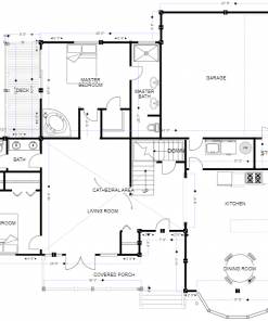 Architectural Drawings and Floor Plans 1